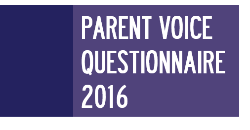 PVQ2016 - Parent Voice Questionnaire 2016