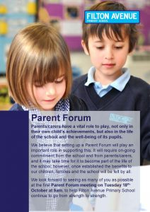 Parent Forum OC2 Page 1 212x300 - Orchard Campus Parent Forum  - Tuesday 18th October