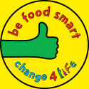 be food smart logo - Be Food Smart