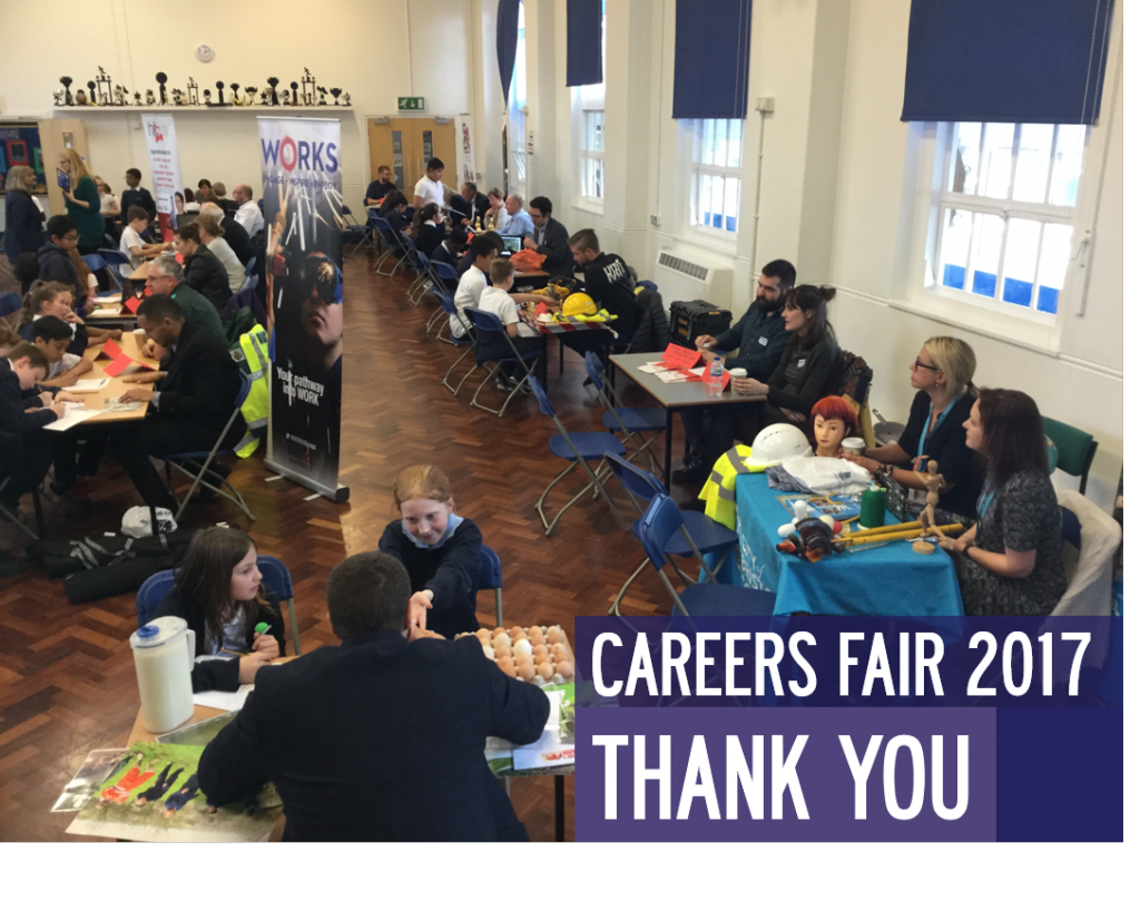 THANK YOU 1024x809 - A huge thank you to everyone who helped at our Careers Fair