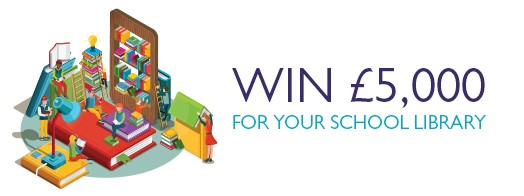 Win £5000 Book Tokens - Chance to win £5000 Book Tokens for School Library