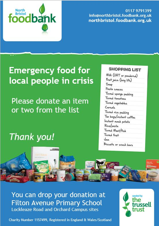 Foodbank 3 - North Bristol Foodbank Urgent Appeal