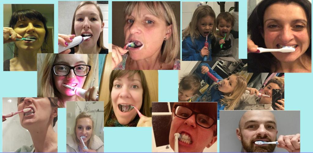 Teethbrushing 1024x503 - 'Teeth Selfies'