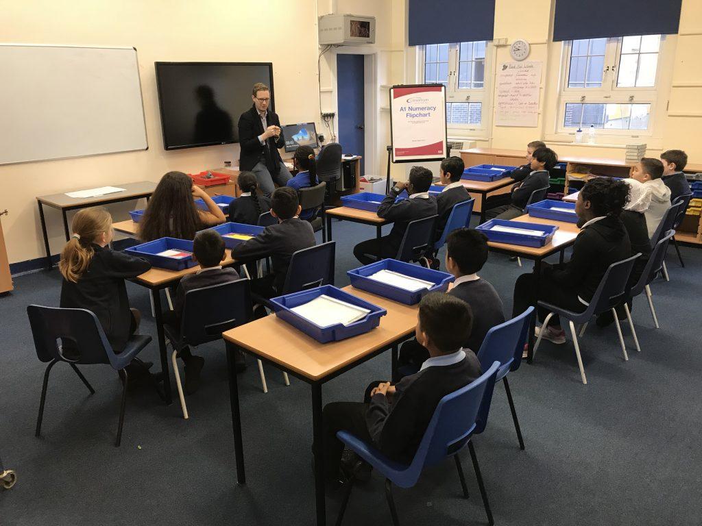 Darren Jones Visit Feb 2018 1024x768 - Darren Jones MP visits school