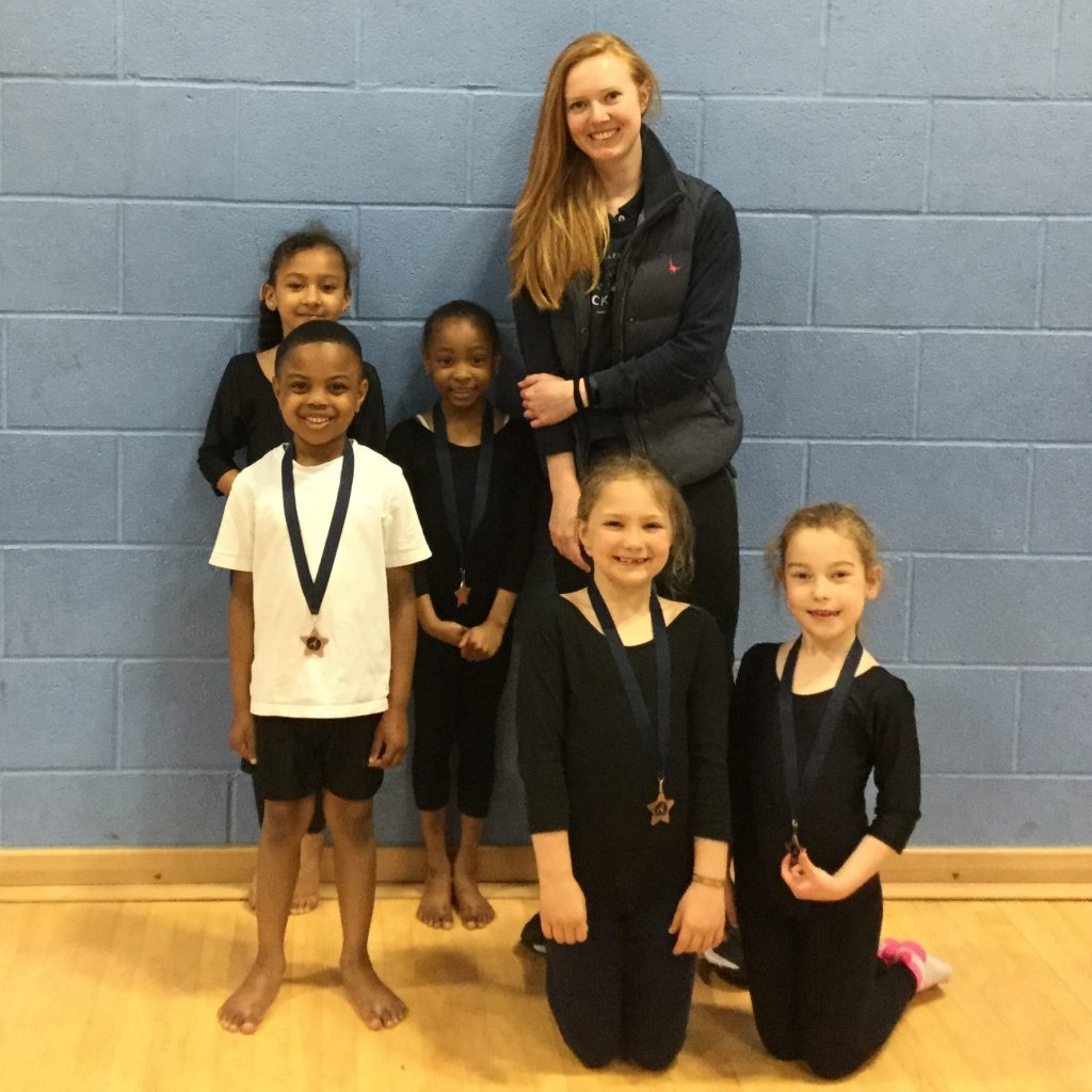 Gym 1 1024x1024 - Year 3 Gymnasts enjoy Competition