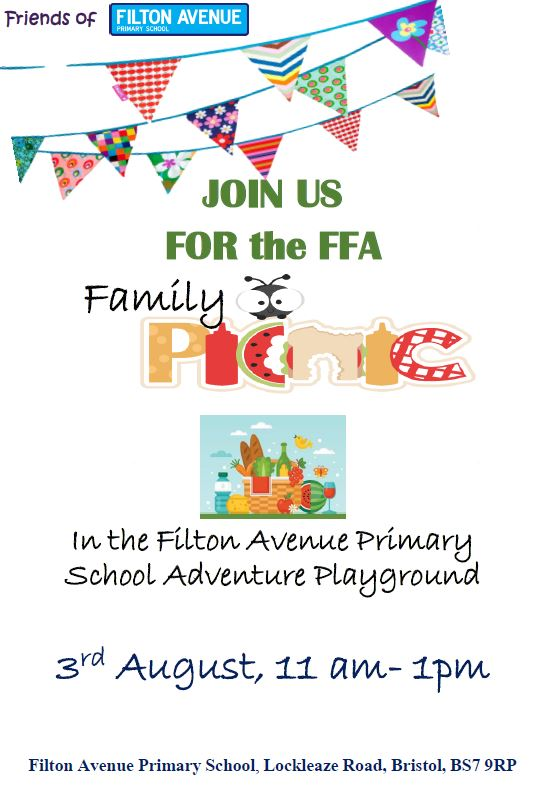 FFA Summer Picnic August 2018 - FFA Summer Picnic  - 3rd August 11AM - 1PM
