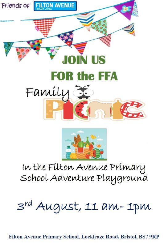 FFA Summer Picnic August 2018 - FFA Summer Picnic  - 3rd August 11AM - 1PM
