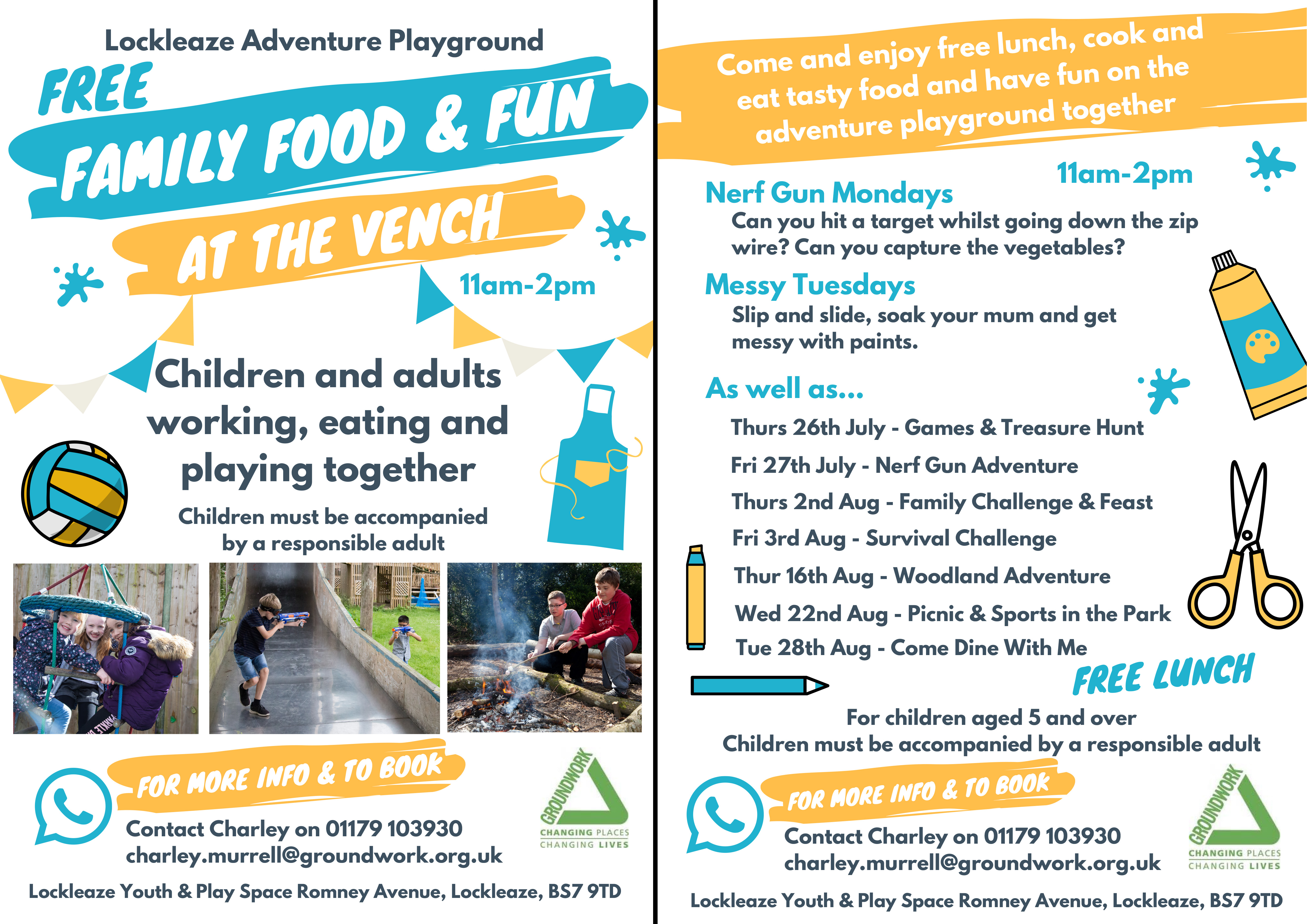 Family Food Fun Summer 2018 1 - Free Family Food and Fun Events in Lockleaze