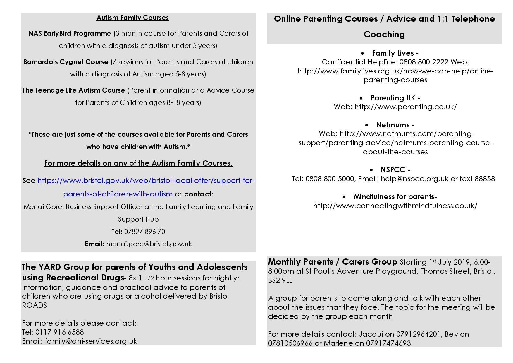 Parenting menu term 1 19 20 page 005 - Parent Guide